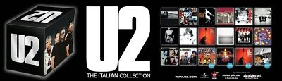 box cd u2 the italian collection 13 album studio 1 cd live 4 dvd live  comp.