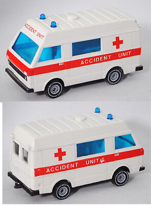 Siku Super 1623 00600 GB VW LT 28, MEDIMOBIL, weiß, ACCIDENT UNIT, ca. 1:60