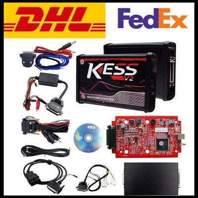 New RED KESS V2 V5.017 EU Master Online 100% No Tokens Free Ship DHL + 4 Gifts