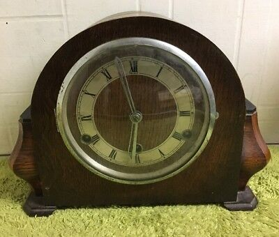 The Perivale British Clock Westminster Chime Mantel Clock