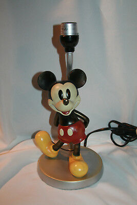 Vintage Style Mickey Mouse Lamp Table Lamp -No Shade-