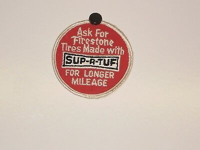 Firestone Tire Sup-R-Tuf Patch NOS