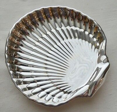 GORHAM  STERLING Silver Footed Clamshell Candy/Soap Dish