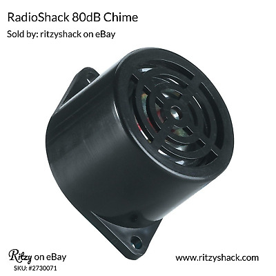 Radio Shack 12VDC 80dB Chime 273-0071 - New in Package