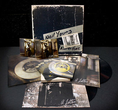Neil Young - A Letter Home Super Deluxe Limited Edition Lp/cd/dvd Box Set [New]