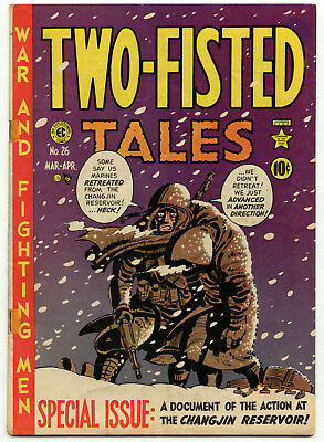 Two Fisted Tales No. 26 EC Golden Age War Comic VG+