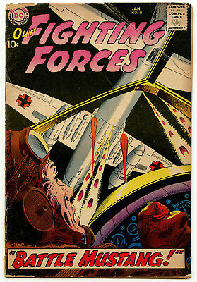 Our Fighting Forces No. 41 DC Comics War Silver Age 1959