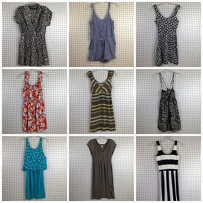 Lot of 9 Womens Juniors Dresses Old Navy, Xhilaration, XXI, Rue21 Size Small