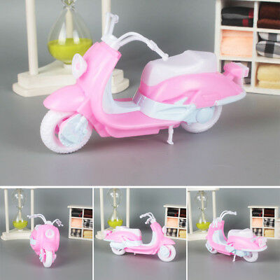 Barbie Doll Motorcycle Dollhouse Cute Dolls Accessories Kids Toy For Children