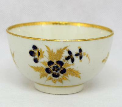 Antique~Rare~Worcester~Crescent Tea Bowl / Cup ~ Pre 1783 ~ English ~ Dr Wall
