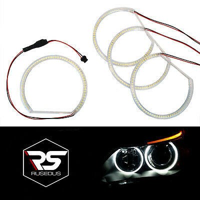 SMD/LED ANGEL EYES Standlichtringe (4 x 131mm) BMW E46 E36 E38 E39 RUSEDUS®