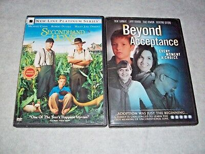 Secondhand Lions; Beyond Acceptance; Family Movies DVD