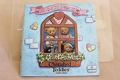 1995 Adoption Registry Cherished Teddies Collection Booklet By Enesco