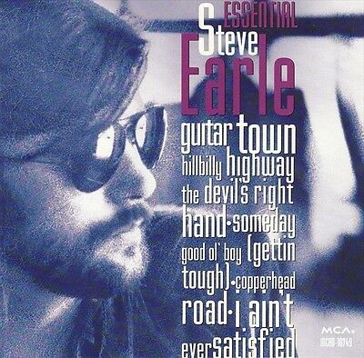 STEVE EARLE Essential CD BRAND NEW Best Of Greatest Hits