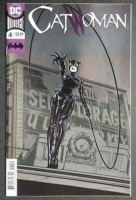 Catwoman #4 Foil Cover Rebirth First Print 2018