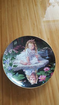 Collector Plate - Children of the Week - Mondays Child - Limited Edition