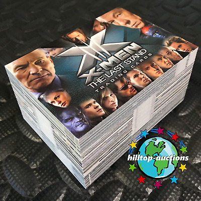 X-MEN 3 THE LAST STAND 72-CARD MOVIE TRADING CARDS SET 2006 RITTENHOUSE marvel