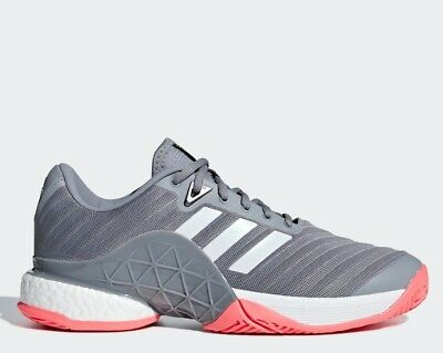 Adidas Women's aSMC Court Boost Tennis Shoe (Active RedActive RedBlack White) $129.00