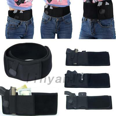 New Police Guard Tactical Belt With Multi-Pouches Utility Security System
