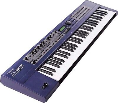 Groove Synthesizer Roland Jx 305 Workstation - Very Good Cond. + Alim. + Notice