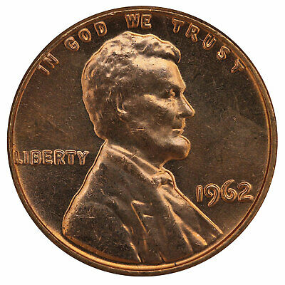 1962 Lincoln Memorial Cent BU Penny US Coin