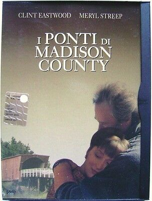 Dvd the bridges of Madison County - ed. Snapper by Clint Eastwood 1995 Used rare