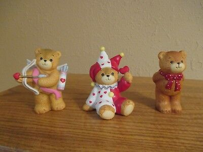LUCY RIGG - LUCY AND ME BEARS -Bigger Original Grouping (3) by-Enesco