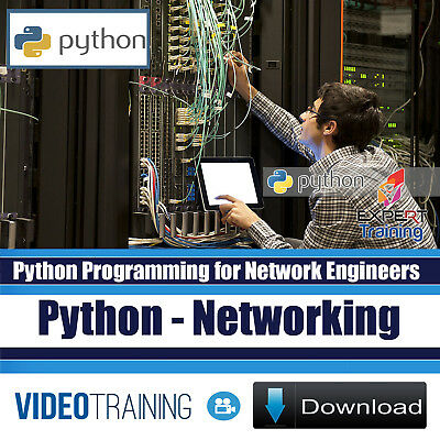 PYTHON PROGRAMMING FOR NETWORK ENGINEERS Video Training Course DOWNLOAD