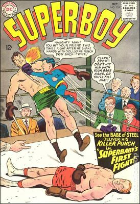 Superboy (1st Series DC) #124 1965 GD/VG 3.0 Stock Image Low Grade