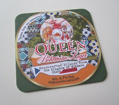 QUEEN :  Bohemian Rhapsody - Limited Edition Lager Beer Coaster Mat