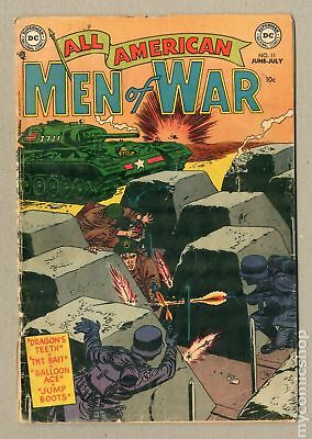 All American Men of War #11 1954 FR/GD 1.5