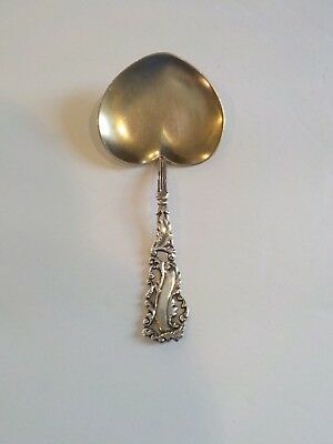 Campbell-Metcalf Sterling Silver Partial Gilt Bonbon Spoon, 20 Grams