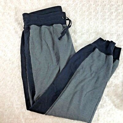 ed0e6cff0b4d0 Xersion WOmens Sz 1x Relaxed Fit Jogger Pants Gray with Black Stripe Sweats