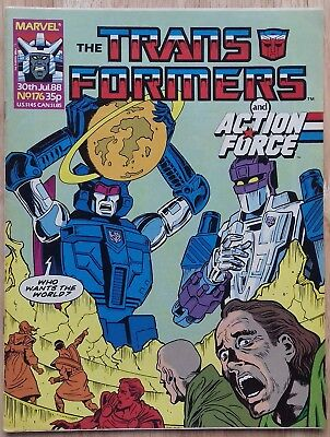 Transformers UK Comic Issue 176