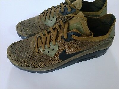 com NIKE Men's Air Max 90 Ultra 2.0 Flyknit Olive 875943 302
