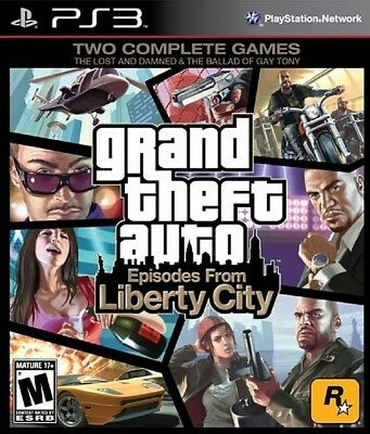 Grand Theft Auto Gta Episodes From Liberty City Per Ps3 Usato In Italiano!!!
