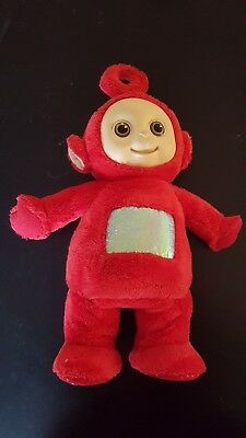 Retro Teletubbies Dancing Po 1996 Original Tomy Red Working