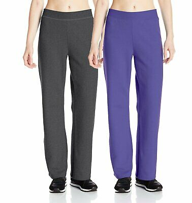 Multiple Sizes & Colors Hanes Women's ComfortBlend Soft Sweatpants Free Ship