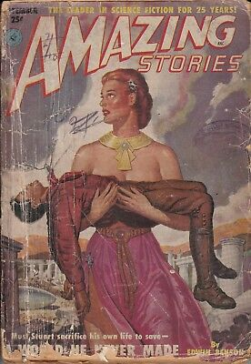 Amazing Stories vol 25 no 9 1951 - Good - US edition