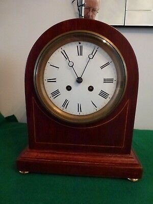 Vintage Bracket Clock by Richard H King of Bath