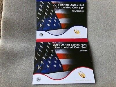 2014PD US Mint Uncirculated Coin Set