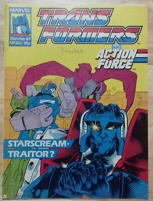Transformers UK Comic Issue 206