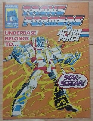 Transformers UK Comic Issue 208