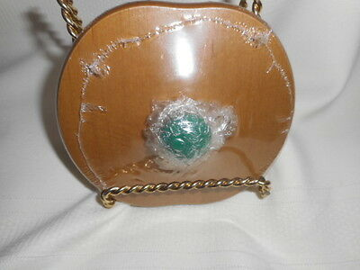 2012 Longaberger St. Patricks Day Lucky Me Lid Green Knob In Shrink Wrap