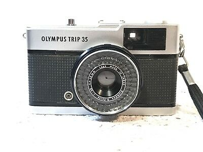 Vintage OLYMPUS TRIP 35 - 35mm Film Compact Camera, D ZUIKO 40mm 1:2.8 Lens
