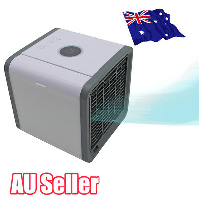 Portable Mini Air Conditioner Cool Cooling For Bedroom Arctic Air Cooler Fan ON