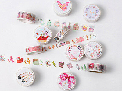 Japan Washi Tape Bows Cosmetics 15mm x 8m MT087