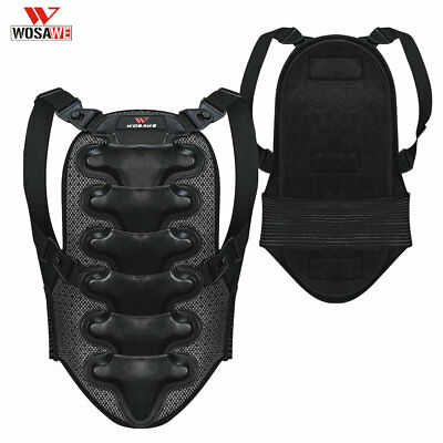 Motorcycle Back Protector Skating Brace Armor Spine Support Motorbike Guard Gear