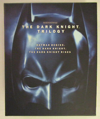The Dark Knight Trilogy (Blu-ray Disc, 2012, 5-Disc Set, Limited Edition) w/book