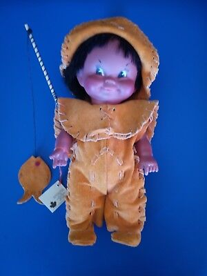 Vintage Canada eskimo doll.From Quebec City  .
